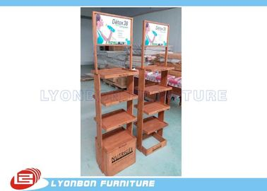 China OEM / ODM beverage Display Stands customized shopping displays supplier