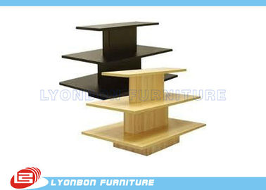 China OEM Multi-Color Gondola Display Stands / Garment gondola display shelving supplier