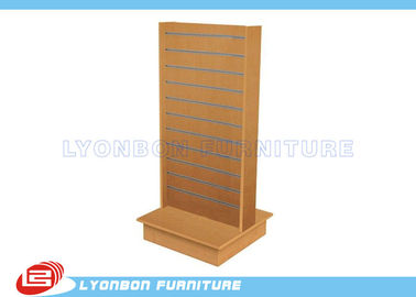 China Top Grade Double Side Slatwall Display Stands MDF / Custom Display Rack supplier