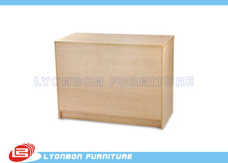 Durable Wooden Store Cash Counter / Checkout Counter For Sale , Printing Logo