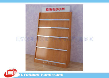 Shop MDF Magazine Display Rack Milamine Finished , Countertop Display Rack