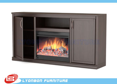 SGS ISO Winter Home Decor fireplaces Painted MDF For Sitting Room Heating