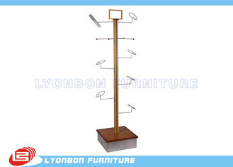 Supermarket MDF / Metal Hat Display Rack Stand With Melamine Finished
