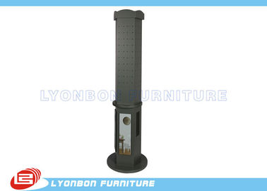 China Free standing MDF pegboard display stands Custom For promotional / Melamine finished factory