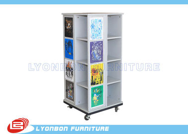 China Wood MDF Display Cabinet For T-Shirt factory