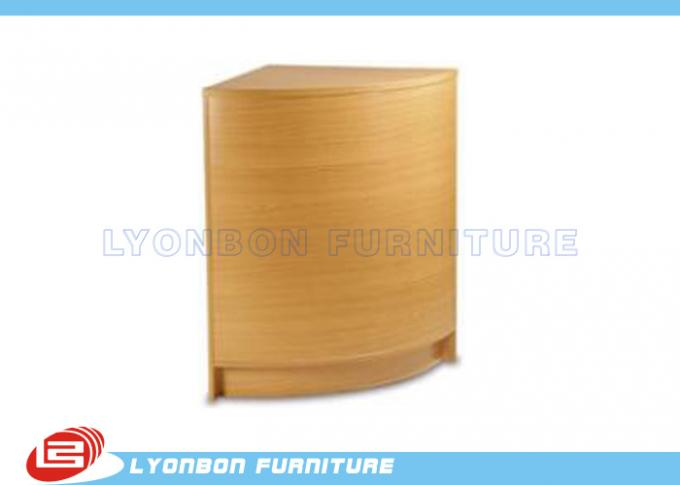 Curved Corner Infill Wood Counter