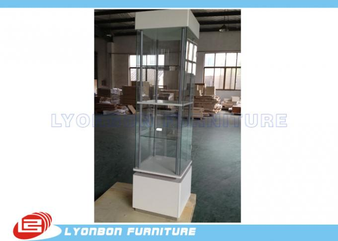 Glass Door Wood Display Cabinets